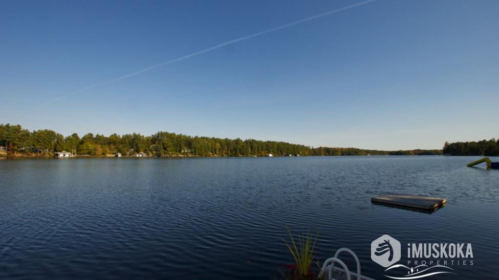 Lake Muskoka Views east on Lake Muskoka from the dock