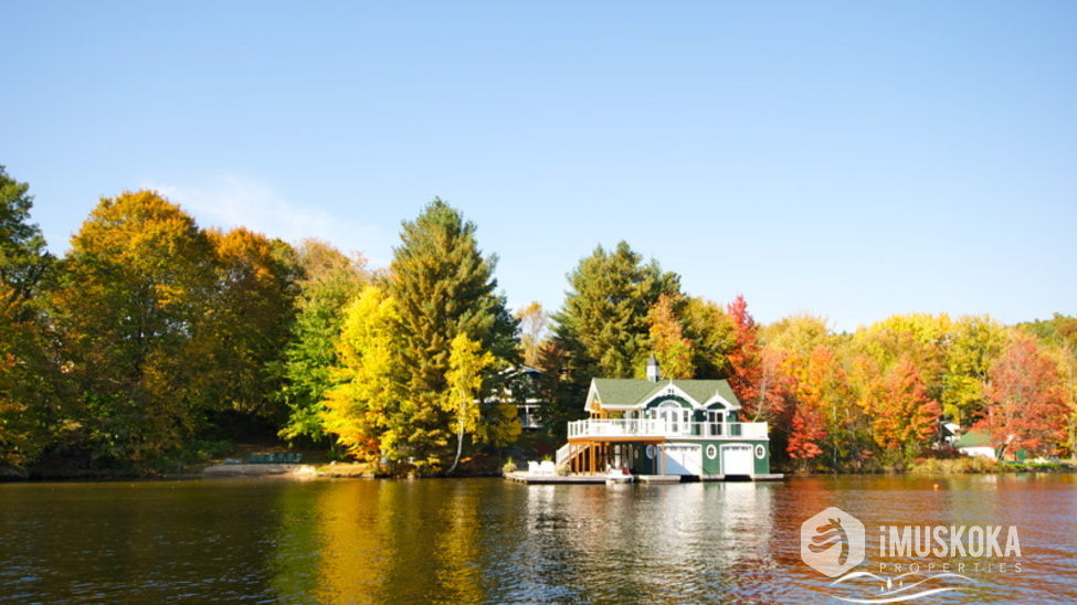 Muskoka Boathouse A classic muskoka boathouse, one of the best!