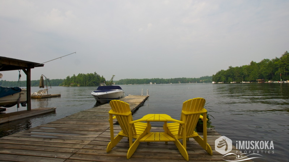great views dock from level lot