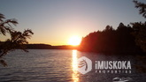 Private Point on Lake Rosseau