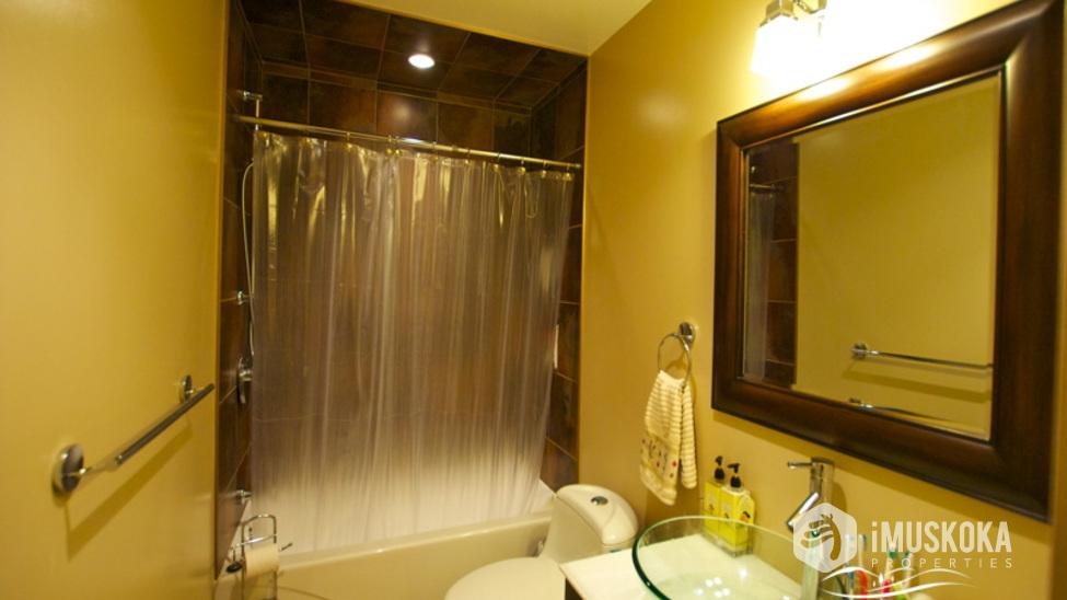 Bathroom modern bath.