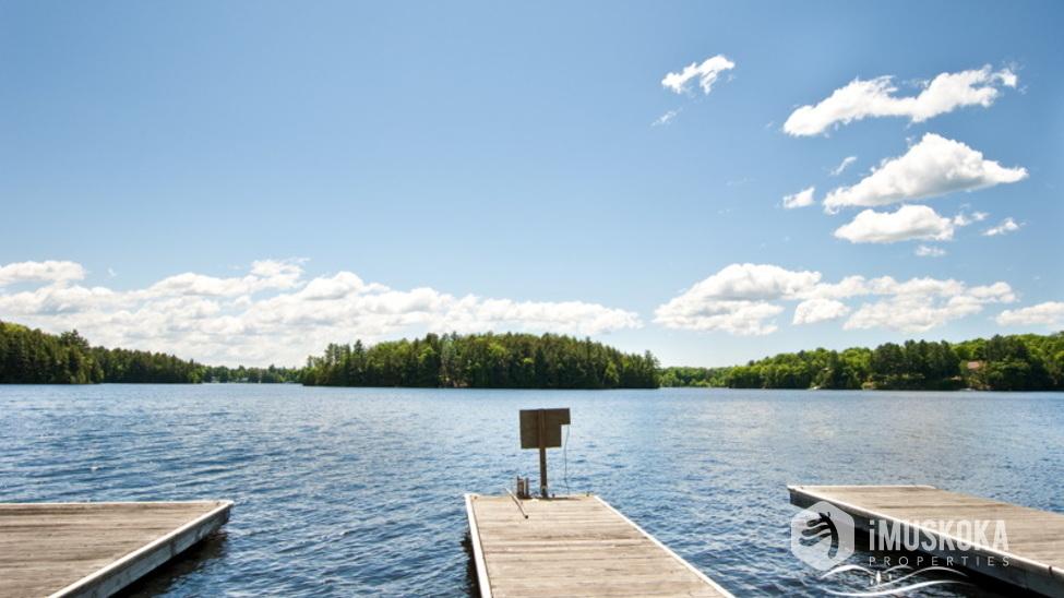Expansive Docks on Lake Muskoka