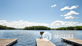 Expansive Docks on Lake Muskoka