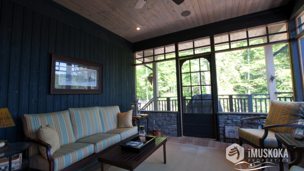 Screened Muskoka Room