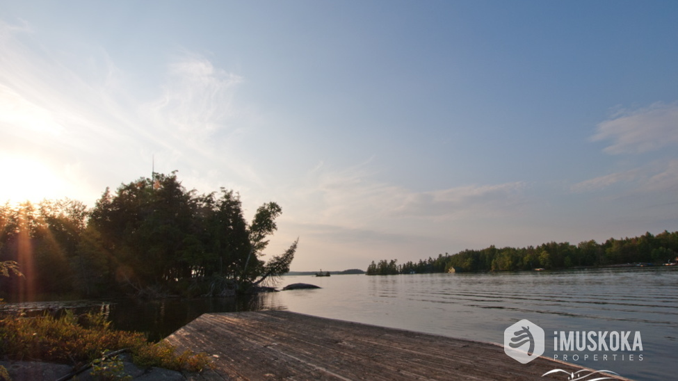 Expansive Views and a mix of Muskoka Granite