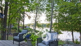 Large Outdoor Areas to Relax on south Lake Rosseau