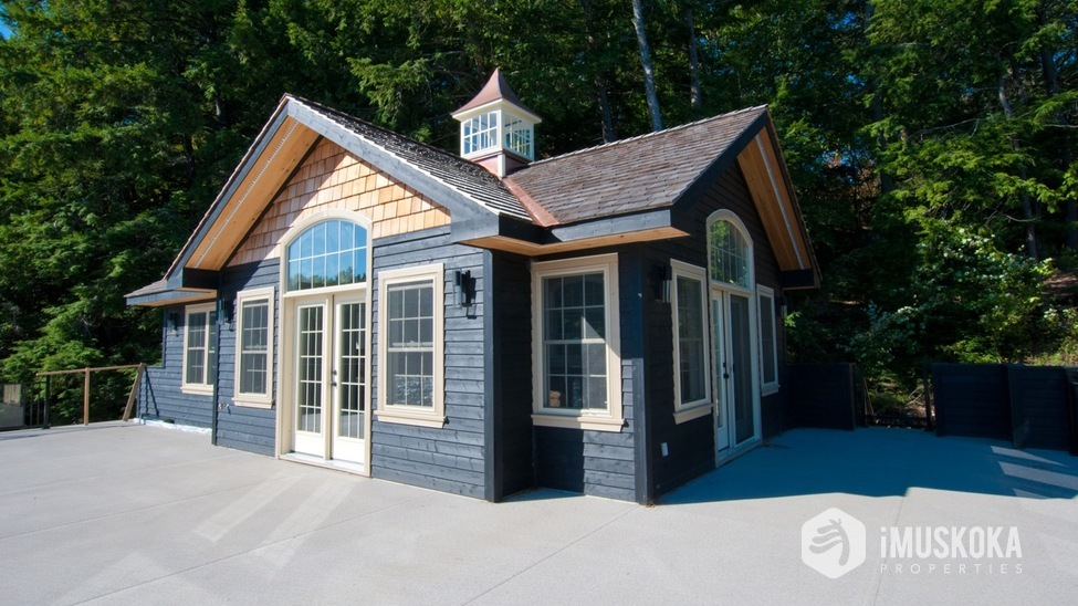 Boathouse with Living Accommodations